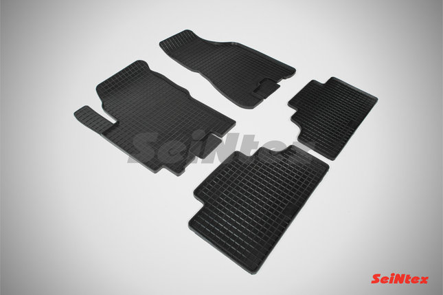 Резиновые коврики для KIA Sportage II 2004-2010, фото 2