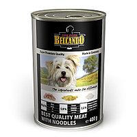 Belcando Best Quality meat with noodles ,Белькандо банки ,влажный корм для собак из мяса c лапшой,, 400 гр