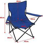 Складной стул с подлокотником, фото 4