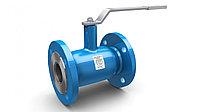 Кран стальной шаровой LD Ду 80 Ру 25 для газа фланец c редуктором