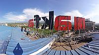 Накрышная световая установка г. Алматы, фото 1