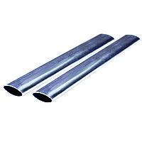 Труба стальная плоскоовальная А 28,6х16,1х1,8 мм Ст1пс ГОСТ 32931-2015