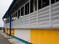 Надувные шторы