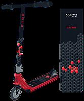 Самокат трюковый Cube Red 110 мм XAOS