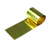 Лента латунная 0,13х110 мм Л90 ГОСТ 20707-80 радиаторная