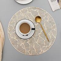 Круглый коврик для обеденного стола