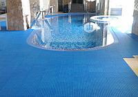 Дренажное покрытие для зон вокруг бассейнов AQUA