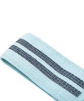 Фитнес-резинка текстильная ES-204, высокая нагрузка, мятный