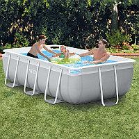 Каркасный бассейн прямоугольный 300х175х80см Intex 26784