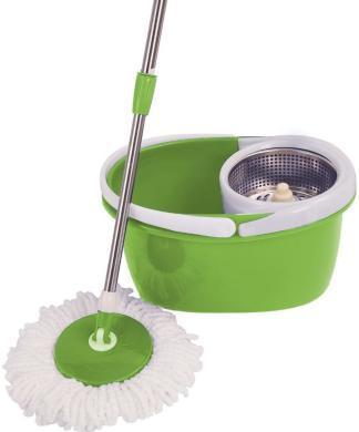 Набор для уборки Magic Mop (швабра,ведро со стальной центрифугой)