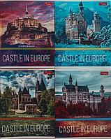 Тетрадь общая 48 листов клетка Magister Castle