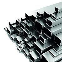 Труба алюминиевая прямоугольная 50х30х2,5 мм А5 ГОСТ 18475-82 холоднодеформированная
