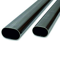 Труба стальная овальная 60х20х2 мм ст. 20 (20А; 20В) ГОСТ 13663-86