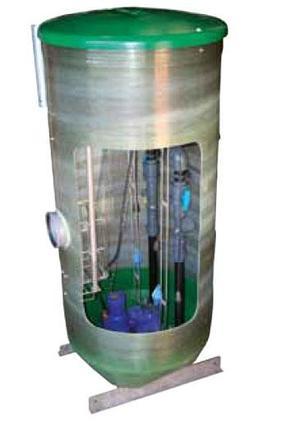 Водоподъемные фекальные установки / Канализационные насосные станции SRS, фото 2