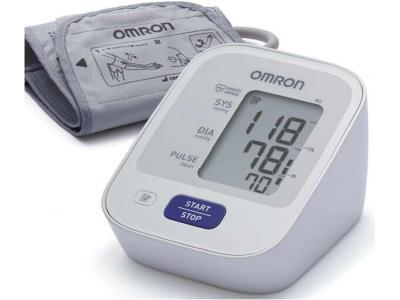Тонометр Omron M2 Basic на плечо автоматический с адаптером в комплекте (НЕМ-7121-ALRU) - фото 1