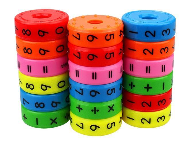 Магнитная головоломка для обучения математике Интерактивные игрушки!