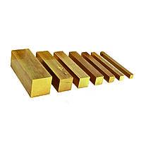 Квадрат латунный 7,5 мм ЛАЖ60-1-1 (ЛАЖ60-1-1Л) ГОСТ 2060-2006 тянутый