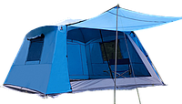 Палатка Family Camping Tent (Grey/Blue)