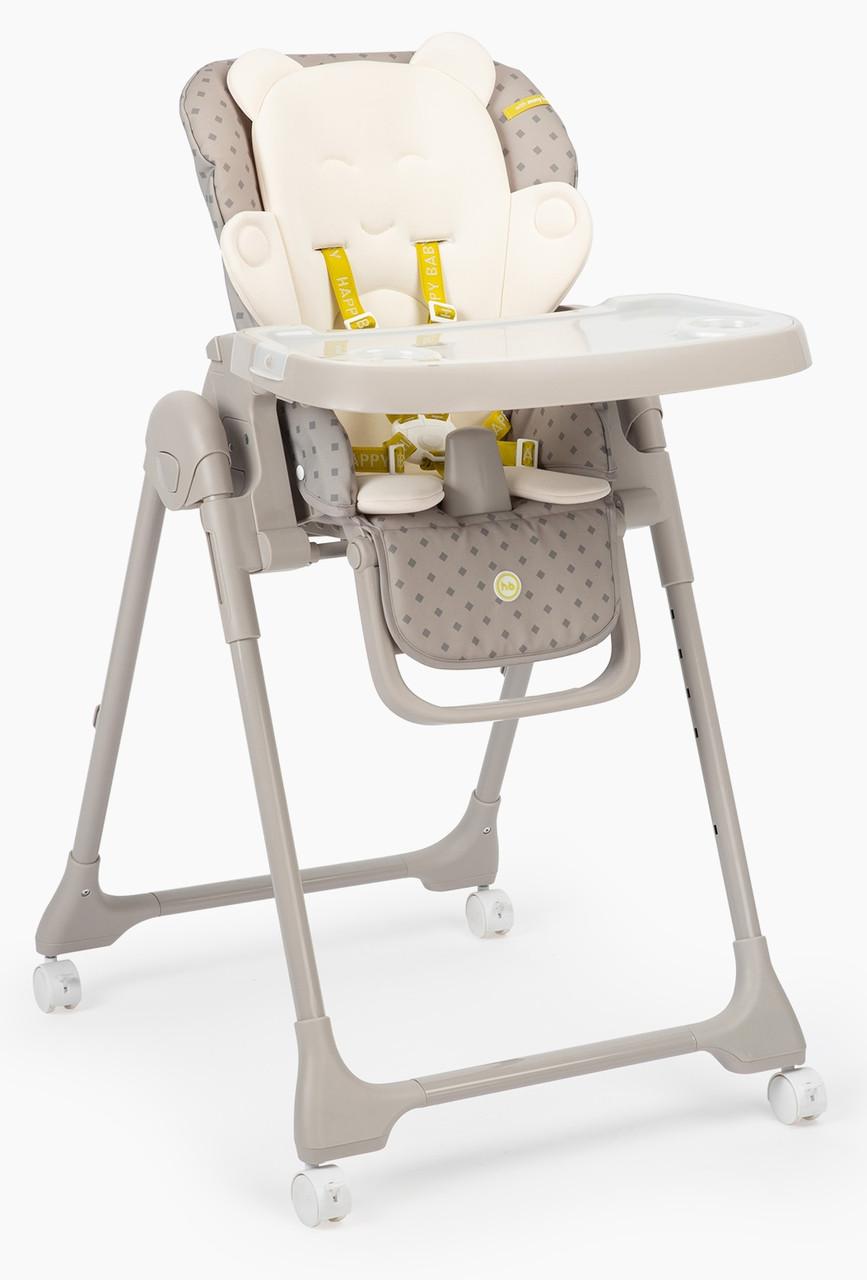 Стул для кормления Happy Baby William Pro - серый