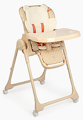 Стул для кормления Happy Baby William Pro - песочный
