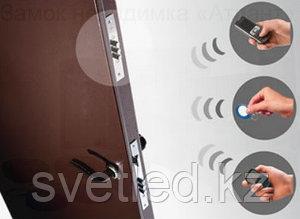 Электронный замок невидимка с GSM модулем обеспечивает дистанционное управление замком