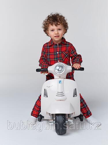 Электромопед Happy Baby Jasper White