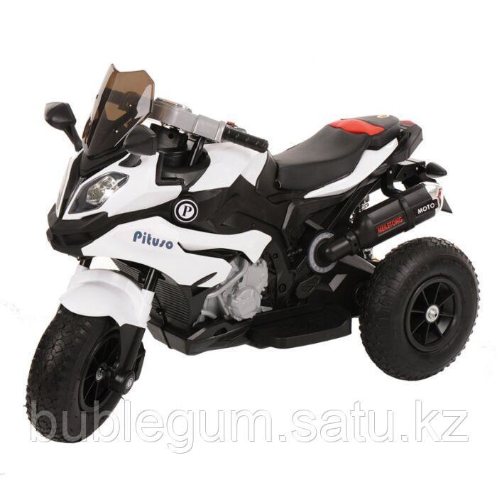 PITUSO Электромотоцикл надувные колеса синий