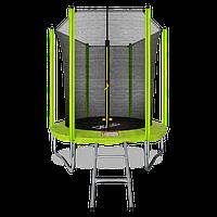 Батут Arland 6ft с внутренней сеткой и лестницей