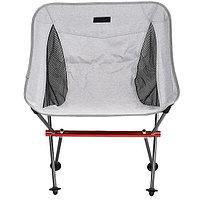 Складной кемпинговый стул - метериал:900D Oxford cloth+Aluminium (серый) (Серый)