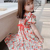 Шифоновое платье в корейском стиле