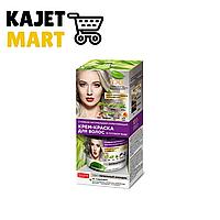 Стойкая натуральная крем-краска для волос «Народные рецепты» Тон Пепельный блондин 120мл