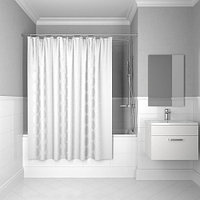Штора IDDIS Chequers для ванны полиэстер 200*200 (432P20RI11)