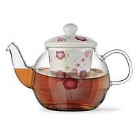 Fissman: Заварочный чайник CASABLANCA 600 мл с керамическим фильтром и крышкой (стекло) - TP-9276.600