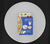 Разделочная доска (пластиковая), круглая
