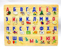 """Пазл для малышей """"Алфавит"""", 34*32 см"""