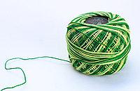 """Нитки для вязания """"Ирис"""", желто-зеленые"""
