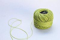 """Нитки для вязания """"Ирис"""", светло-зеленые"""