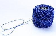"""Нитки для вязания """"Ирис"""", сине-голубые"""
