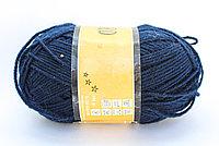 Пряжа акриловая, KING BIRD, 100 гр., синяя