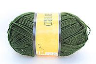 Пряжа акриловая, KING BIRD, 100 гр., темно-зеленая