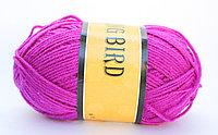 Пряжа акриловая, KING BIRD, 100 гр., фиолетовая