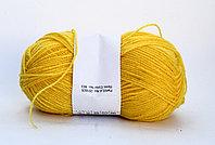 Пряжа акриловая, детская, 45 гр., желтая