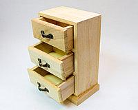 """Заготовка для декора """"Шкатулка-ящик"""", деревянная, 17*11 см"""
