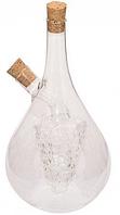 9441 FISSMAN Бутылочка 50/500 мл для масла и уксуса 2-в-1 (стекло)