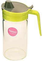 9444 FISSMAN Бутылочка для масла 550 мл с пластиковой крышкой (стекло)