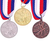 """Медаль тематическая 117 """"Парные танцы"""", золото"""