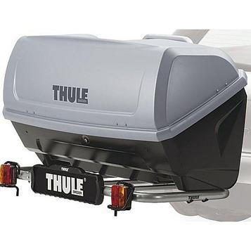 Бокс для установки на фаркоп Thule BackUp 900, 420 л, 147х57х70 см, 900000