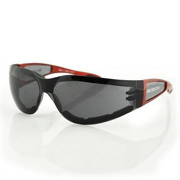 Очки Shield II красные с дымчатыми линзами