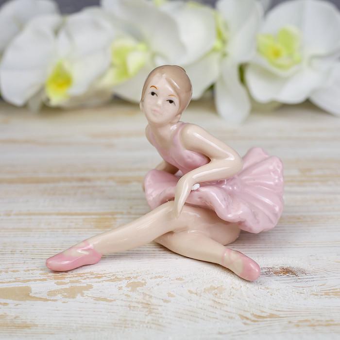 "Сувенир фарфор ""Балерина"" 10,5х15см"