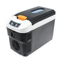 Холодильник автомобильный 10 л, 12/24/220 В, 68 Вт, -10/65С, LED дисплей
